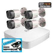 Комплект HD видеонаблюдения для дома на 4/8 камер